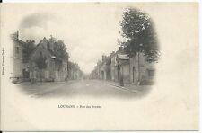 CPA -71 - LOUHANS - rue des Bordes