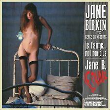"7"" JANE BIRKIN Je t'aime moi non plus AVAN-GUARD Australia NUR COVER Only Sleeve"