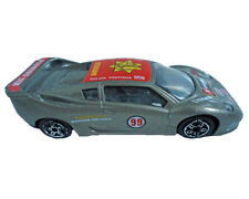 Burago 1994 MCA Centenaire Racing Car Series 4100 Model 4170 Silver Die Cast Car