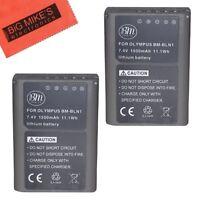 BM 2X BLN-1 Batteries for Olympus Pen F, OM-D E-M1, OM-D E-M5, E-M5 II, OMD E-P5