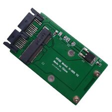 1xBlue Mini PCI-e mSATA SSD To 1.8 inch Micro-SATA Adapter Converter Card Module
