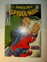 Amazing Spider-Man #69 VF+, 1969,Silver Age Kingpin cover,John Romita art,BV=102