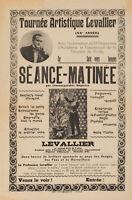 Original Vintage Poster - Nicolitch - Levallier - Magic Show Tour - Circa 1940