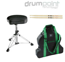 König & Meyer K&M 14000 Gomezz Drumsitz Hocker & Tasche & Vic Firth 5A Sticks