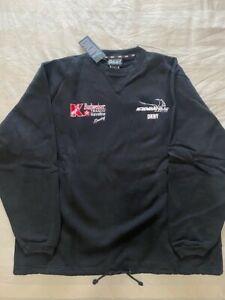 DKNY Newman Haas Racing ChampCar CART Indy Car Racing Black Sweatshirt - Size XL