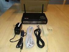 Verizon D-Link DSL-2750B 4 Port Gateway DSL Modem /Wireless ADSL2+ Router w/ all