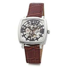 TIMEPIECES BY RANDY JACKSON STAINLESS STEEL AUTOMATIC SKELETON 10