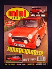 Mini  magazine # December 1996 - ''S'' Files - Turbocharged - New mini test