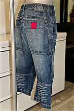 pretty short pants in jeans mixed M & F GIRBAUD size 40 fr 46i us 32 mint