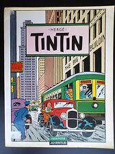 Superbe grand album poster Tintin Juventud  BON ETAT 1987 Tim Kuifje