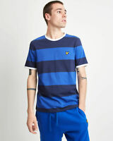 Lyle and Scott Men Wide Stripe Ringer T-Shirt