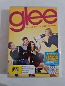 Glee : Season 1 (DVD, 2011, 7-Disc Set) Very Good Condition Region 4