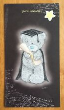 'You've Graduated, Congratulations' Me To You Graduation Card-Tatty Bear 9x4.75""