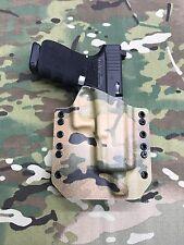 Multicam Kydex Holster Glock 19 GEN5 Threaded Barrel