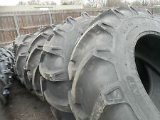TWO 18.4x34, 18.4-34  John Deere 12 Ply Tube Type Tractor Tires