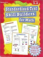 Standardized Test Skill-Builders for Math: Grades 3-4 (Ready-To-Go Reproducibles