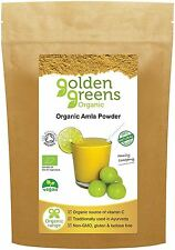 Golden Greens Organico Amla Frutta Polvere 200g