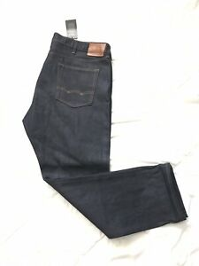 NWT American Eagle Raw Selvedge Denim Jeans 44x32 Tapered