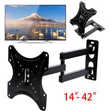 TV Wall Bracket Tilt Swivel For 14 21 23 26 32 37 40 42 Plasma LCD LED 3D