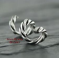 Bartschmuck Bartring Bartcreole Celtic Schlangenkette Feingehalt Silber 925