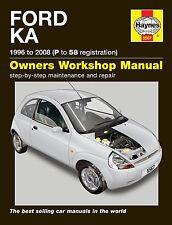 Haynes Ford Ka 1.3 Petrol 1996-2008 Manual 5567 NEW