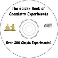The Golden Book of Chemistry Experiments on CD