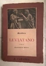 HOBBES LEVIATANO FRANCESCO MOFFA CARABBA 1948