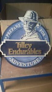 Authentic Tilley Endurables Shop Sign