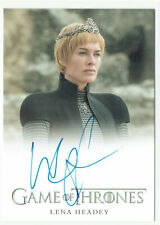 Game of Thrones Inflexions Full Bleed Autograph Lena Headey as Cersei Lannister