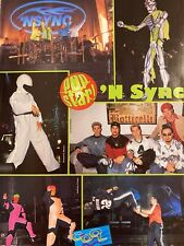 Nsync, N Sync, Ben Affleck, Double Full Page Vintage Pinup