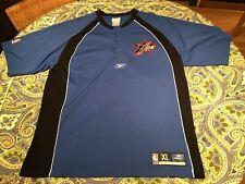 vintage philadelphia 76ers Xl Iverson Era Warmup Pullover Shooting Shirt Xl Sewn