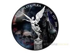 Black Libertad Santa Muerte Mexiko 1 oz Silber 2016