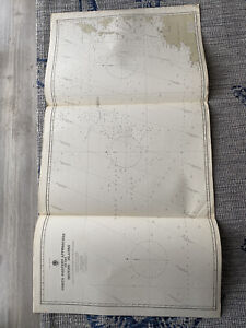 Orig Nautical Chart Map North Western Approaches To The British IslesIssued 1940