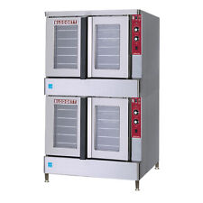 Blodgett BDO-100-E-ES DBL Full-Size Electric Convection Oven Double Stack