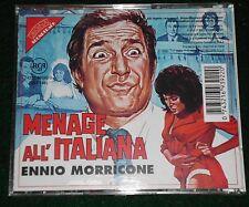 Ennio Morricone - MENAGE ALL' ITALIANA/ AD OGNI COSTO - OOP CD NM