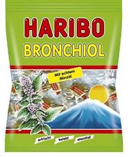 3 x HARIBO BRONCHIOL  CANDY SWEETS WITH MINT OIL - ORIGINAL FROM GERMANY