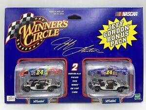 Winners Circle 1/64 Jeff Gordon #24 Tech Series Bonus pack Set of 2