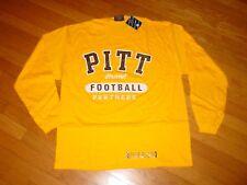 Pittsburgh PITT PANTHERS  FOOTBALL  Long Sleeve  T-Shirt NEW / TAG   ...  MEDIUM