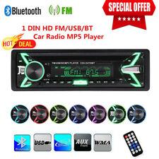 "4.1"" 1 DIN HD Car Stereo Radio MP5 MP3 Player Bluetooth FM/AUX/USB/SD W/Remote"