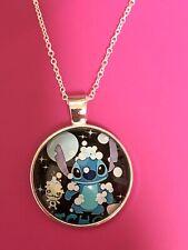 Lilo And Stitch Pendant Necklace/Charm/Pendant/Disney/Stitch/Cute/Ohana/Bubbles