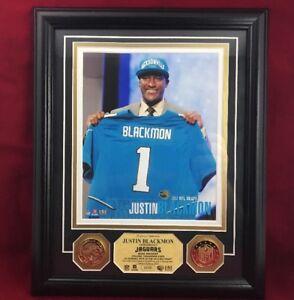 Jacksonville Jaguars Justin Blackmon Photo Silver Coin Highland Mint NFL WS24