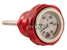 HONDA Z50 CT70 SL70 C70 XL70 ATC70 TRX90  Red Billet Oil Temp Gauge Dip Stick