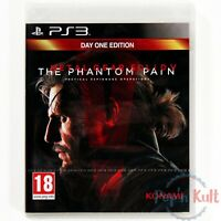 Jeu Metal Gear Solid V : The Phantom Pain [VF] PlayStation 3 / PS3 NEUF Blister