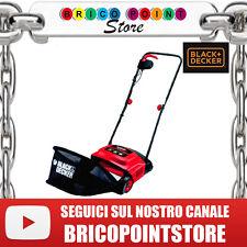 ARIEGGIATORE ELETTRICO 600 WATT BLACK & DECKER GD300 SACCO LT. 40 PRATO GIARDINO