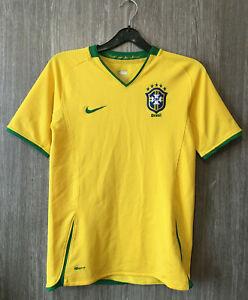 Nike Brazil National Brasil Football Shirt Soccer Jersey Maglia Camisa Youth L