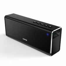 4000mAh 20W Drahtlos Tragbar Bluetooth Lautsprecher MP3 USB TF AUX Mic Speaker