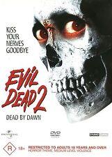 """EVIL DEAD 2 """"DEAD BY DAWN"""" - HORROR DVD -  MINT... Region 4"""