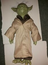 2006 Lucasfilm Disney Star Wars Yoda with hair