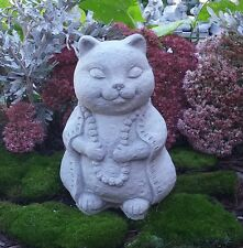 Concrete Buddha Cat
