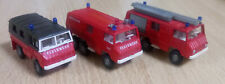 (K) Roco div. 3x Feuerwehr Fahrzeuge Konvolut 1/87